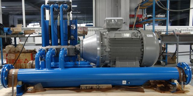 Проект Техпром - Гидропривод затворов шлюза
