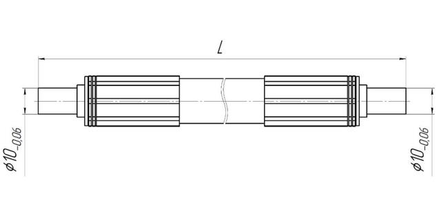 Вставка диэлектрическая в исполнении с ниппелем под врезное кольцо ВДТП-1